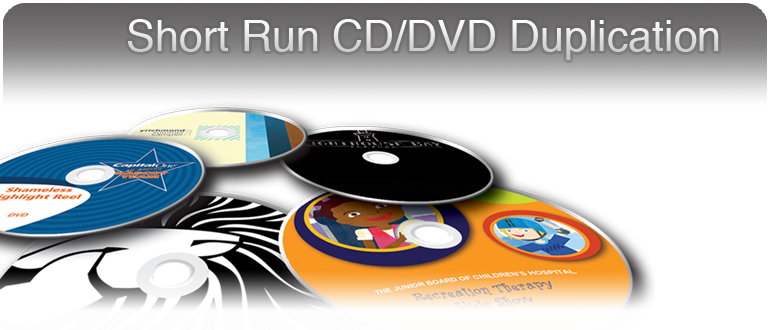 Short Run CD/DVD Duplication